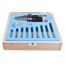 New 58 11 Cat40 2 Boring Head Set And 9pcs Carbide Tips Boring Bar Tools