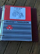 Massey Ferguson Tractor Mf 1085 Parts Book