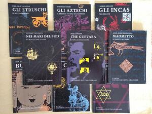 9 libri collana storia L'Unità Universale Electa Gallimard