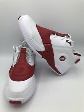 REEBOK MENS ANSWER 5 IVERSON BASKETBALL SHOES SIZE 8.5 OG WHITE/POWER RED DV6961