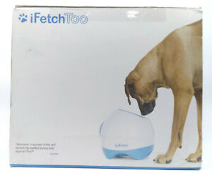 iFetch Too Interactive Ball Thrower for Dogs - Launches Standard Tennis Balls