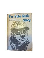 The Babe Ruth Story NY Yankees by Bob Considine 1967 Baseball Paperback