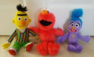 SESAME STREET PLUSH BUNDLE elmo BERT soft toy JOBLOT phoebe - see description