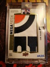 2017 18 Cam Talbot Mega Patch /22! Chest Logos! Authentic Game-used! Oil Drop!