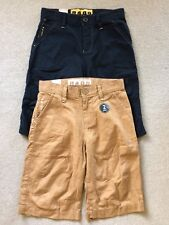 NWT NEXT 2 PACK OF LINEN SHORTS - 11 YEARS