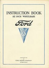 Instruction Book 112 Inch Wheelbase - Ford - V8