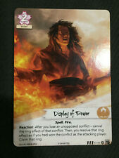 Legend of the Five Rings LCG L5R - Display of Power - Promo Card Full Art