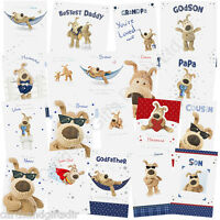 Boofle Birthday Card - Male Relation Cards Dad Brother Son Grandad Husband Uncle