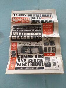 Journaux anciens 1978 claude François spécial dernière