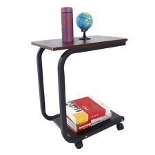 Portable Sofa Side End Snack Over Bed Dinner Table Stand Notebook Laotop Desk