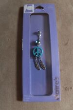 Belly Bar New with Tags Peace RRP £12 Body Jewellery Piercing