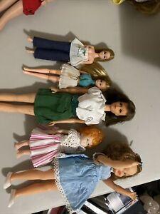 Vintage Lot  Dolls (5 Total)