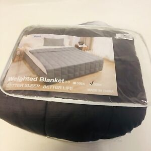 Rejea Weighted Blanket 20lbw Bed Cover 152 x 203cm Heavy Gravity Relax Sleep