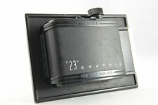 "Excellent Graflex ""23"" graphic 120 Roll Film Holder for 4x5 inch Camera from JP"