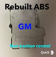 99 1/2 00 01 02  SILVERADO ABS, Anti skid module  Non Traction Control.REBUILT