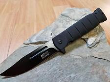 MTA905BK Couteau Tactical Mtech A/O Lame Acier Carbone/Inox Manche ABS Black