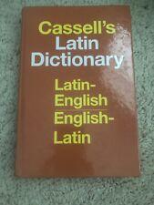 Cassell's Latin Dictionary : Latin-English, English-Latin by D. P. Simpson...