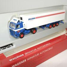 "Herpa 1:87 Scania 142 Kühlkoffer-Sattelzug "" Brüssel Spedition "" OVP(EK1943)"