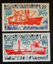 Timbre TAAF Stamp - Yvert et Tellier n°66 et 67 n** (Cyn23)