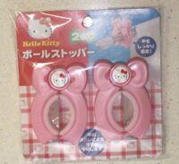 Sanrio Hello Kitty Pole stopper2 pieces Kawaii cute Japan New Free shipping
