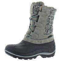 Revelstoke Womens Hannah Gray Snow Winter Boots Shoes 10 Medium (B,M) BHFO 3708