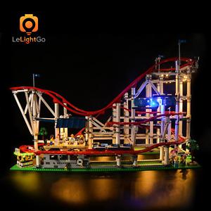 LED LIGHT KIT FOR LEGO ROLLER COASTER LIGHTING 10261 BRICKS BUILDING SET 10261