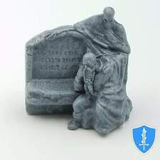 Dwarf & Death Statue - Waterdeep Dragon Heist City of the Dead D&D Miniature