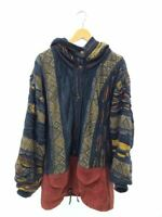 Vintage COOGI Cotton Knit Sweaters Cardigan  Multicolor Size M Rare