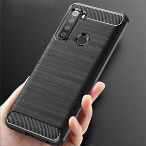 Pour Xiaomi Redmi Note 8 Pro 11.3km 9 A2 A3 Chocs Brossé Souple TPU Étui Coque