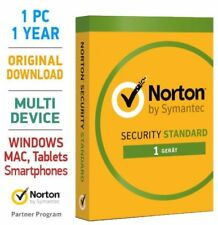 Norton Security 3.0 Standard 2019 1 PC 1 Jahr Mac Android Tablet