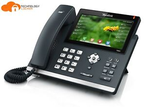 YEALINK SIP-T48G GIGABIT IP Touch Screen Business Phone with Stand