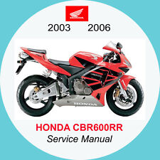 HONDA CBR600RR 2003 2006 FULL SERVICE MANUAL A1