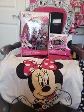 6 pcs Disney Minnie Mouse Polka Dot Twin Microfiber Bedding Comforter Sheet Set