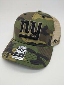 New York Giants '47 Camo MVP Mens Adjustable Hat Camouflage new NFL cap