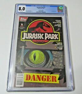 Jurassic Park #1 CGC 8.0 (1993) - Newsstand Edition - 1st Movie 217
