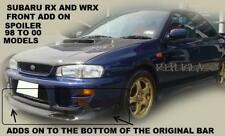 SUBARU WRX AND RX FRONT LIP SPOILER TO SUIT 98 TO 2000 MODELS ONLY