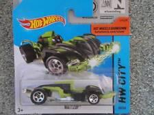 Hot Wheels 2014# 060/250 Wattzup Negro/Verde Hw City Lote P Nuevo Casting