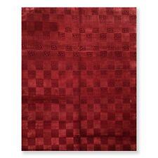 8' x 10' Hand Knotted Designer Wool & Silk Tibetan Oriental Area Rug Burgundy