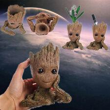 "UK Guardians of The Galaxy Vol.2 Baby Groot 6.2"" Figure Flowerpot Plant Pot Gift"