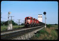 Original Rail Slide - CP Canadian Pacific 5780+ Bergen MB 6-8-1982  #840