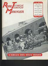 (12B)REVUE TECHNIQUE MOTOCYCLISTE BMW 250 CC / 425 A.W.O / Volants magnétiques