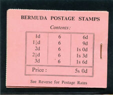 Bermuda 1948 KGVI 5s booklet (stapled right) superb MNH. SG SB1.