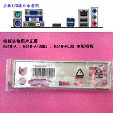 NEW IO Shield FOR ASUS H61M-A 、H61M-A/USB3 H61M-PLUS I/O Shield Back Plate