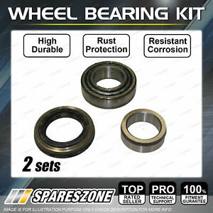 2 Rear Wheel Bearing Kit DISC for Ford Anglia 1.0L 1964-1965 Premium Quality