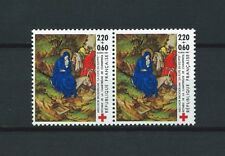 CROIX ROUGE - 1987 YT 2498 paire - TIMBRES NEUFS** LUXE