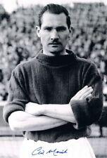 Signed Gil Merrick Birmingham City Autograph Photo England Goalkeeper