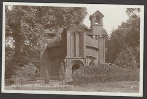 Postcard Compton nr Guildford Surrey the Watts Cemetery Chapel early RP
