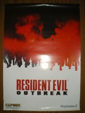 Resident Evil Outbreak Official Capcom 2003 Double Sided Poster,