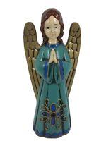 """Vintage 12"""" Norcrest Praying Angel Paper Mache Plaster Figure Japan"""