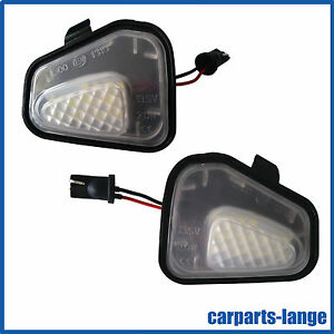 LED Set VW EOS Passat Scirocco Courtesy Lights Mirror Lighting